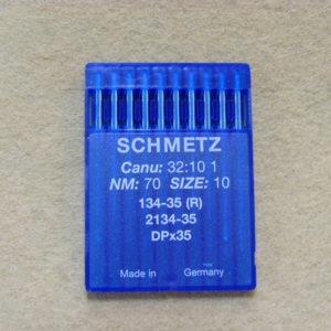 Иглы Schmetz DPх35 №70 (уп. 10 шт.)