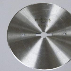 Лезвие дискового ножа R4-1/4 для отрезной линейки