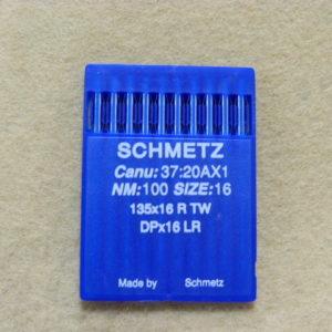 Иглы Schmetz DPх17 LR №100 (уп. 10 шт.)