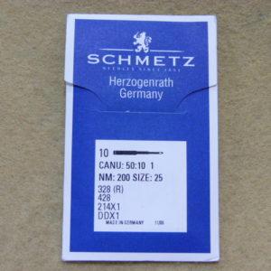 Иглы Schmetz DDх1 № 200 (уп. 10 шт.)