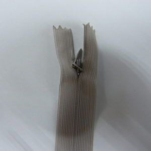 Молния потайная №3 20см ДС-372 светло-серый