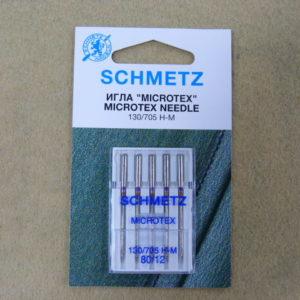 Игла Schmetz 130/705H-M №80 (5шт/уп)