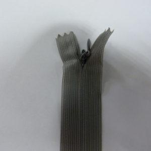 Молния потайная №3 20см ДС-350 серый