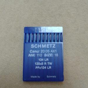 Иглы Schmetz DPх5 LR (134 LR) №110 (уп. 10 шт.)