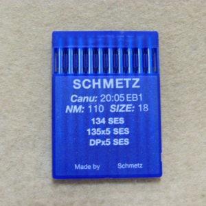 Иглы Schmetz DPх5 SES №110 (уп. 10 шт.)
