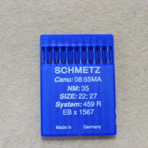 Иглы Schmetz 1567 (459R) №35 для скорняжных машин (уп. 10 шт.)