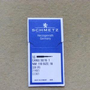 Иглы Schmetz DDх1 № 110 (уп. 10 шт.)