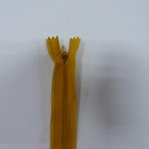 Молния потайная №3 20см ДС-033 желтый