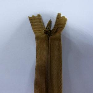Молния потайная №3 20см ДС-045 светло-коричневый