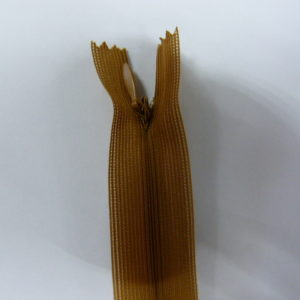 Молния потайная №3 20см ДС-048 коричневый