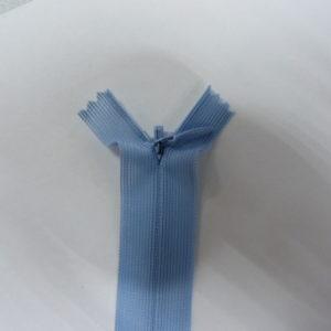 Молния потайная №3 20см Е-352 серо-голубой