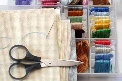 Материалы для вышивки