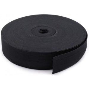 2.Резинка вязаная черная