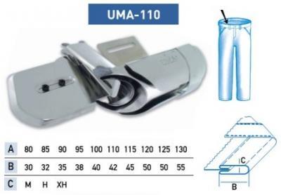Приспособление UMA — 110 100-40 мм Н (для изготовления пояса)