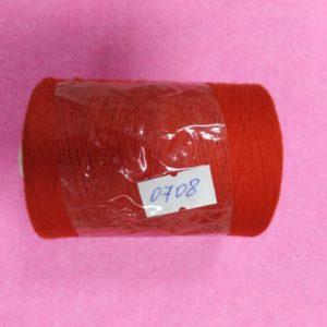 0708 Нитки 45 ЛЛ красный «Санкт-Петербург» 2500м