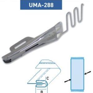 Приспособление UMA — 288 (30-8 мм) Н (для канта по краю козырька)