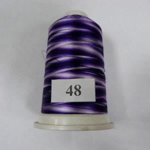 Нитки вискоза FUFU'S мультиколор (5000м) 48