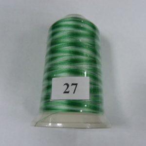 Нитки вискоза FUFU'S мультиколор (5000м) 27