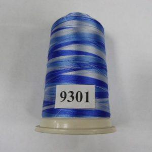Нитки вискоза FUFU'S мультиколор (5000м) 9301