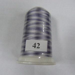 Нитки вискоза FUFU'S мультиколор (5000м) 42