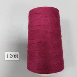 1208 Нитки 70 ЛЛ темно розовый «Санкт-Петербург» 2500м