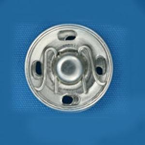 Кнопка потайная 11мм (уп. 20шт.) никель