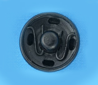 Кнопка потайная 15мм (уп. 20шт.) оксид