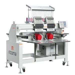 Ricoma CHT многоголовая 12/15-игольная вышивальная машина с 10″ HD сенсорным дисплеем
