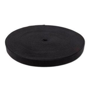 Резинка черная 0030 (1рул.-50м)