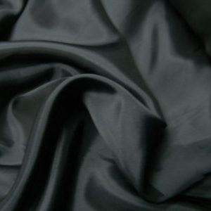 Ткань подкладочная 170Т, 100%ПЭ, черный