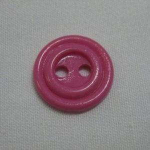 Пуговица 2-П д.17мм розовая (1000 шт/уп)