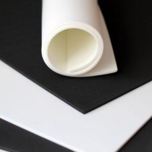 Пена для вышивки 30*40см 3 мм черная