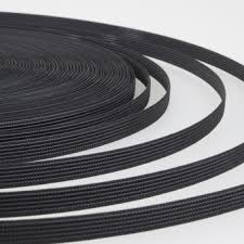 Ригелин 12 мм, черный, рул — 45 м