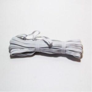 Резинка-продежка  10мм (1уп.-10м) белая (Россия)