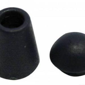 Концевик №1 колокольчик (1000 шт/упак) silver-317