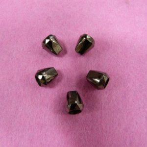 Концевик №352 колокольчик (500 шт/упак) под металл черный никель