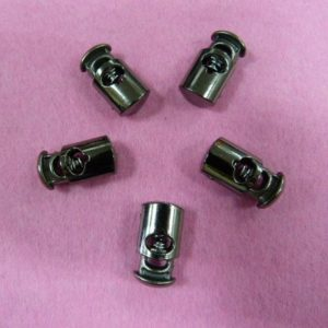 Фиксаторы №5 цилиндр под металл черный никель (500 шт/упак)