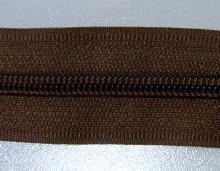Рулонная молния спираль №5 17.50гр/м 200м/рул (299 коричневый)