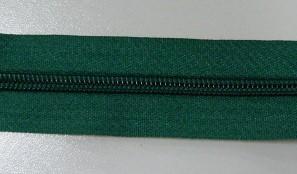 Рулонная молния спираль №5 17.50гр/м 200м/рул (478 зеленая)