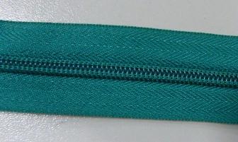 Рулонная молния спираль №5 14.50гр/м 200м/рул (877 зеленый)