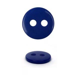Пуговица 2-П д.15мм темно-синяя (1000 шт/уп) 24L