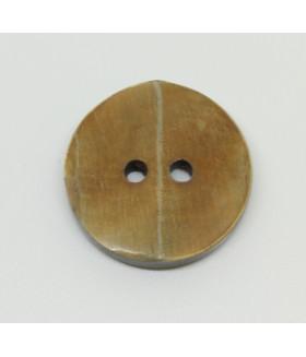 Пуговица 2-П д.12мм кокос (1000 шт/уп) 18L