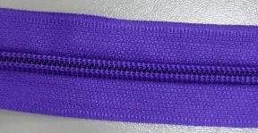 Рулонная молния спираль №5 17.50гр/м 200м/рул (170 фиолетовый)