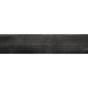 Тесьма окантовочная 22мм №147 черная (1рул-100м)