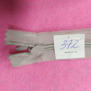 Молния потайная №3 50см ДС-372 светло-серый