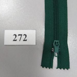Молния брючная №4 20 см зеленый 272