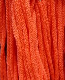 Шнур 36 Ф круглый диам. 4,5 мм розовый люминесцентный (265)
