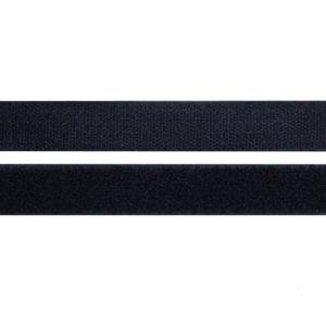 Лента контактная пришив. 25 мм 25м, Комплект, черный
