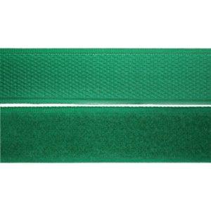Лента контактная пришив. 50 мм 25м, Комплект, 242-зеленый