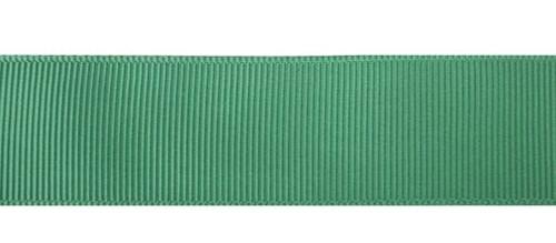 Лента репсовая 25мм №19 ярко зеленый (уп 33м)